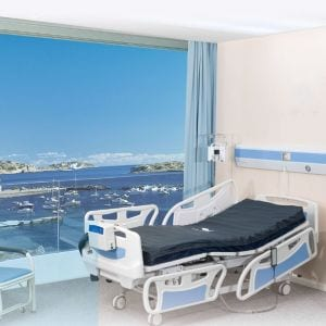 5 function ICU bed